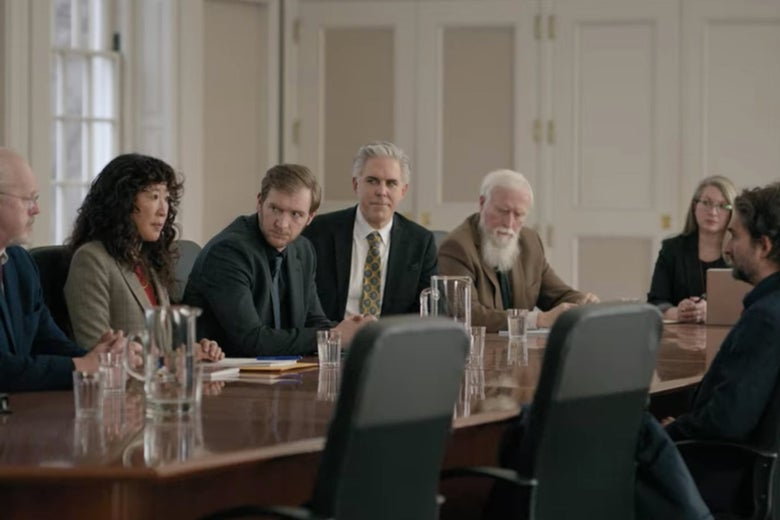 Bill's disciplinary meeting.