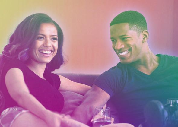 Nate Parker and Gugu Mbatha-Raw in Beyond the Lights (2014).