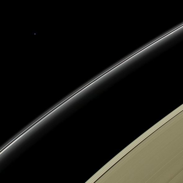 Uranus and Saturn