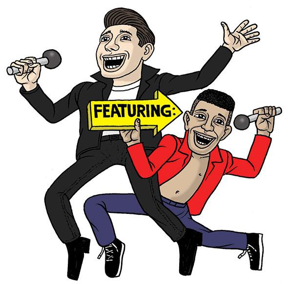 c8cd6e1b051fa The history of featured rappers and other featured artists in pop songs.