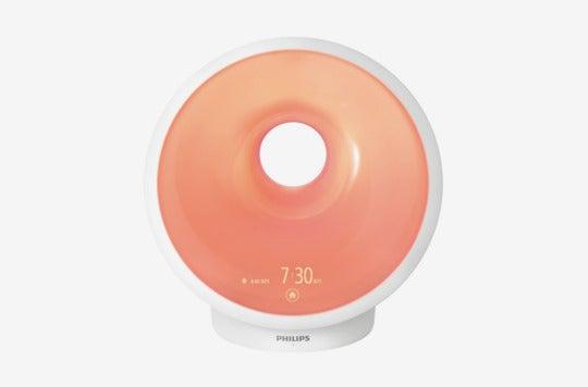 Philips Somneo Sunrise Wake up and Sleep Therapy Light With Sunrise Alarm.