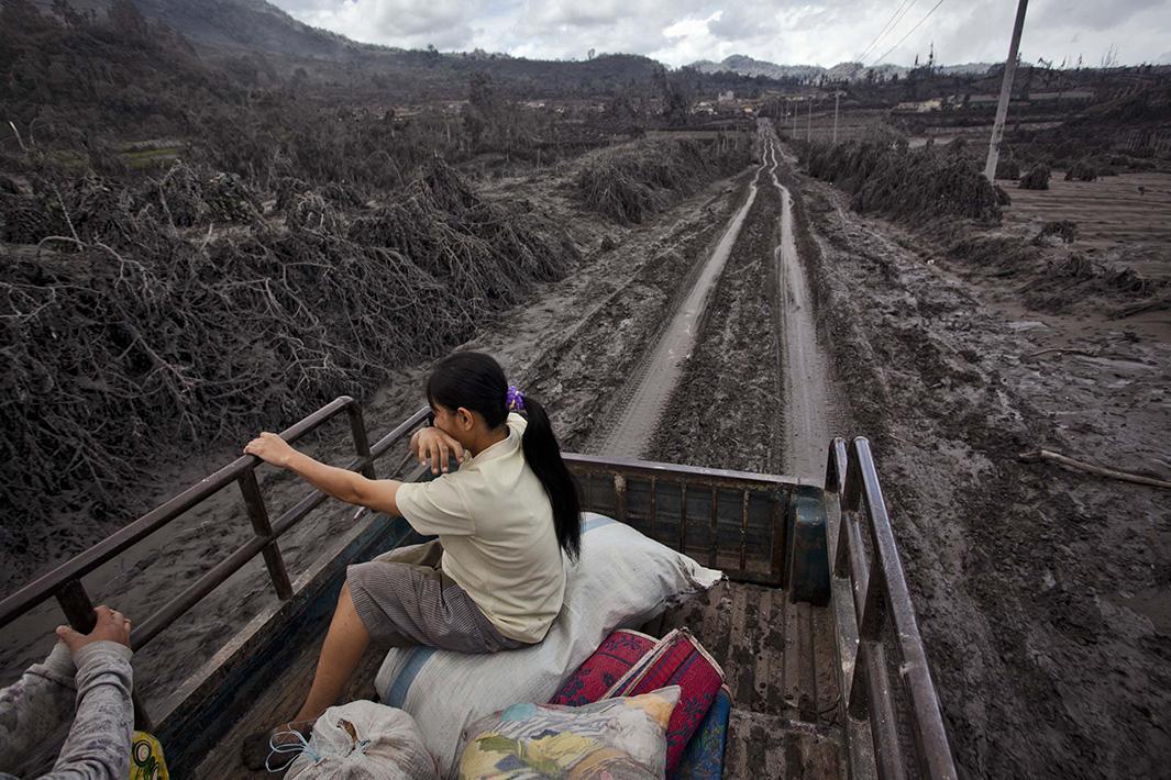 Jan. 11, 2014: Sigarang Garang, North Sumatra, Indonesia