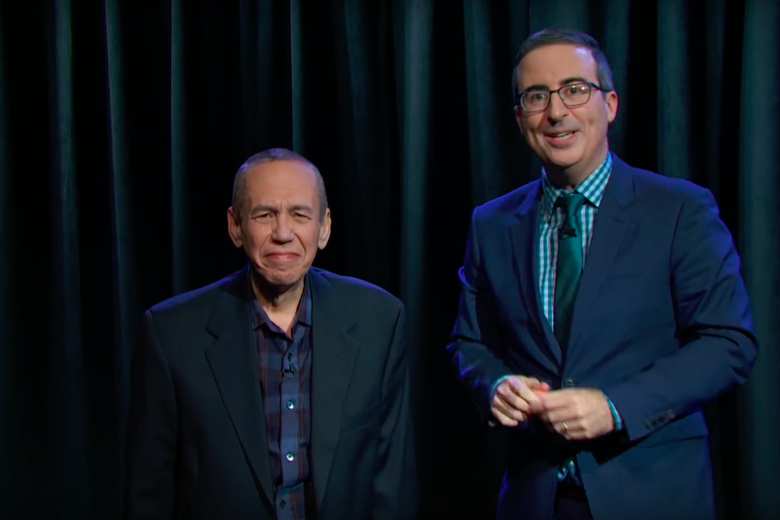 Last Week Tonight Recruits Gilbert Gottfried to Read Obscure Brexit Provisions and Bigfoot Erotica
