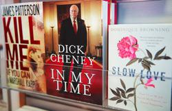 """Former US Vice President Dick Cheney's new 'tell-all' book """"In My Time."""""""