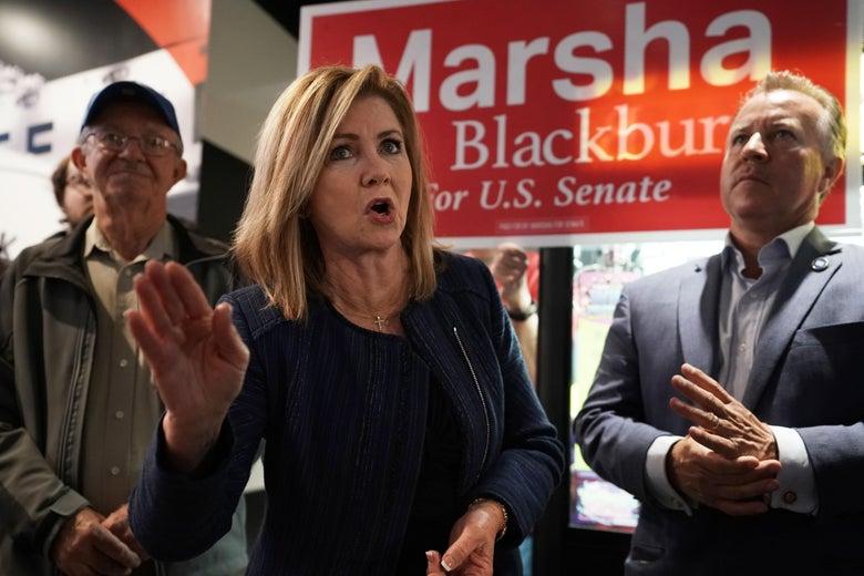 Senator-elect Marsha Blackburn.