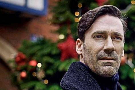 """Jon Hamm stars in """"White Christmas,"""" which aired Dec. 16 in the U.K. and comes to DirectTV's Audience Channel Dec. 25."""