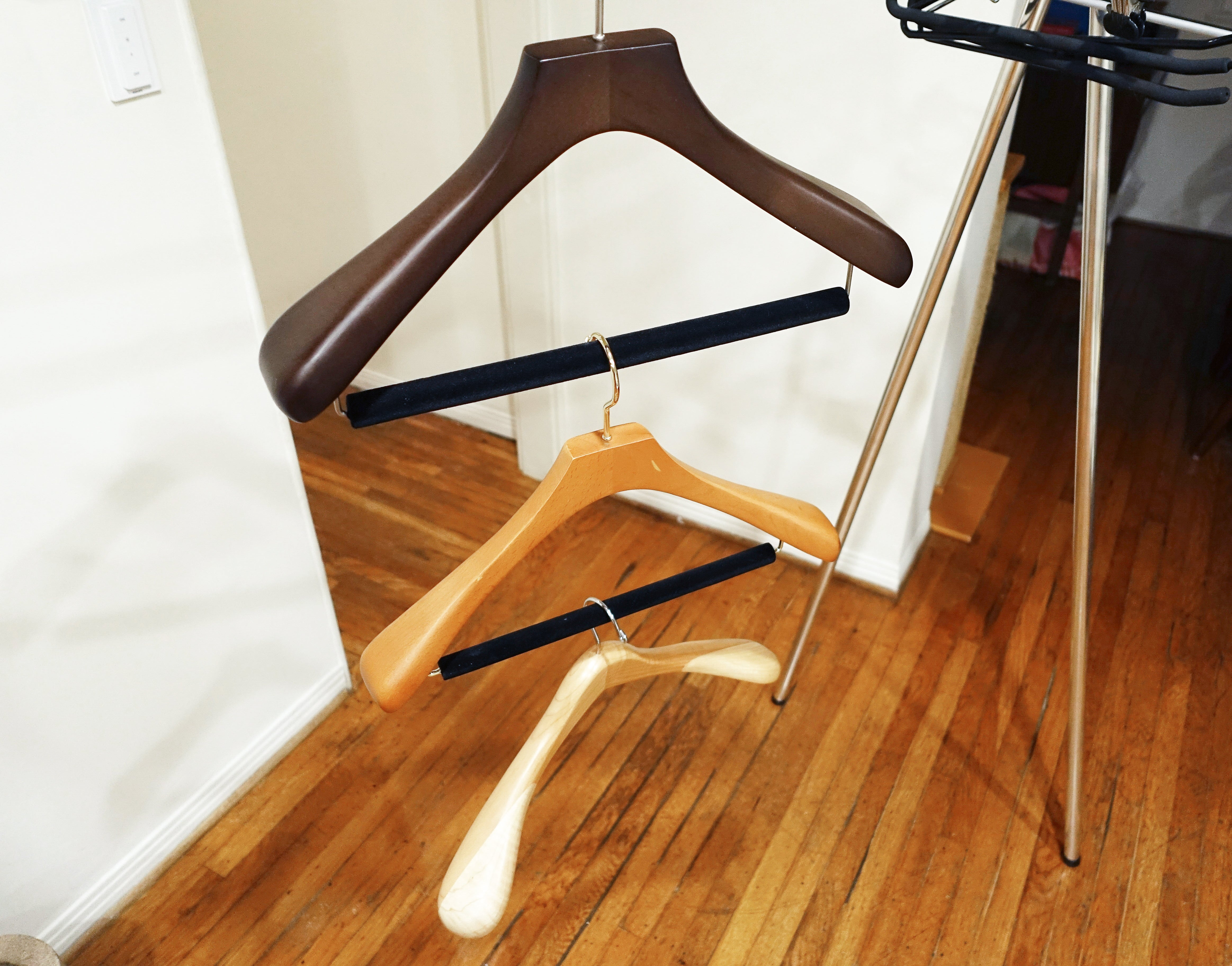 group of hangers