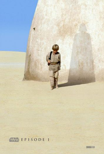 Official poster for The Phantom Menace
