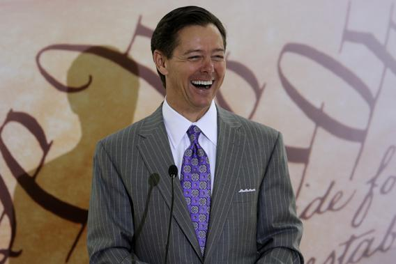 Founder and Chairman of the Faith & Freedom Coalition, Ralph Reed, addresses the Road to Majority Conference Kickoff Luncheon in Washington June 13, 2013.