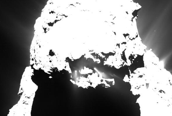 comet jets
