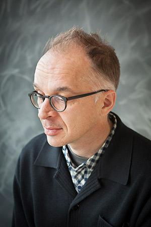Author Spencer Reece.
