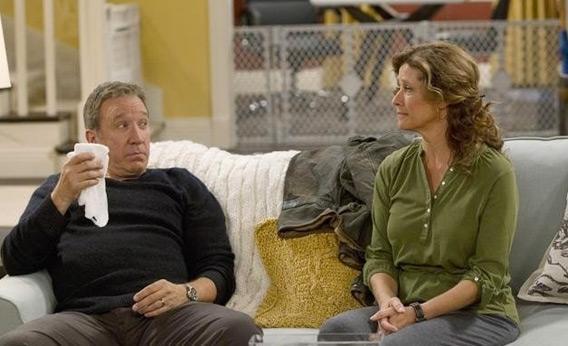 Still of Tim Allen and Nancy Travis in 'Last Man Standing.'