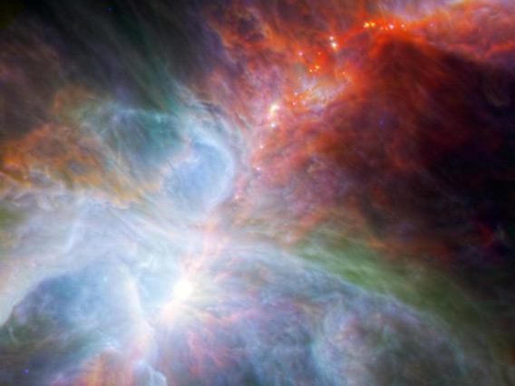 Spitzer Herschel Orion