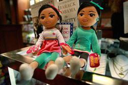Makers Of Beanie Babies Ty Inc. Create Sasha And Malia Dolls. Click image to expand.