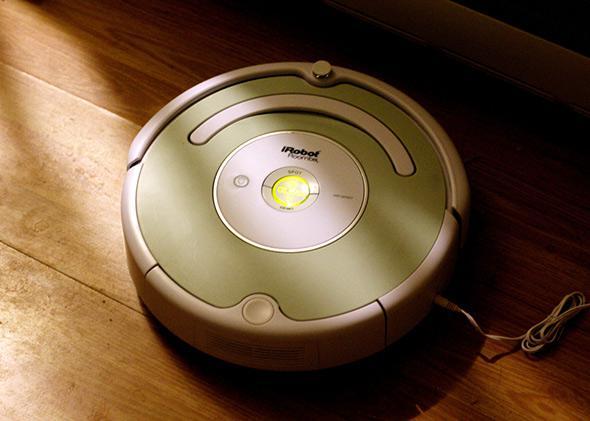 Roomba iRobot.