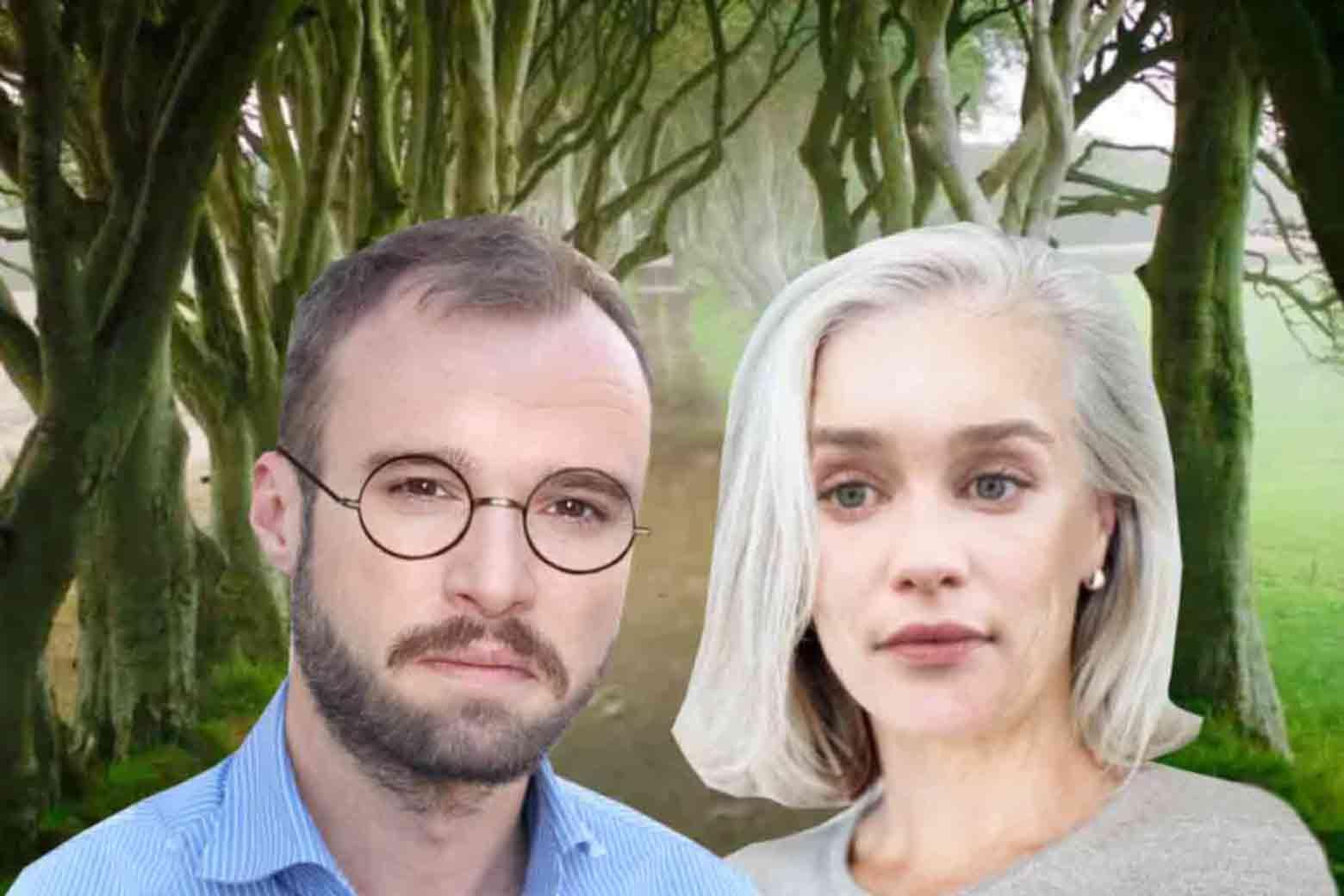 Photo illustration of Jon Snow and Daenerys Targaryen, Nineteen Years Later, maybe, probably.