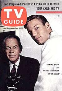 TV Guide cover featuring Dr. Kildare.