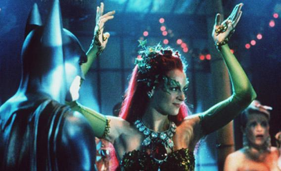 Uma Thurman as Poison Ivy.
