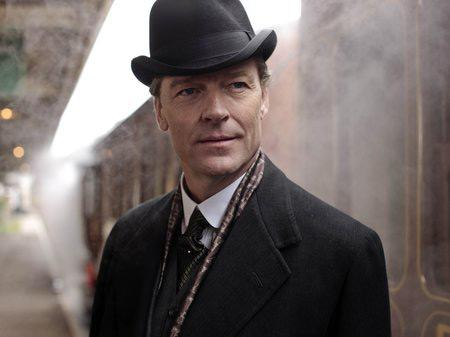 Sir Richard Carlisle, played by Iain Glen, on the new season of Downton Abbey