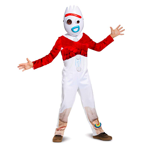 The shiver-inducing Forky costume, available for $24.99 on Amazon.