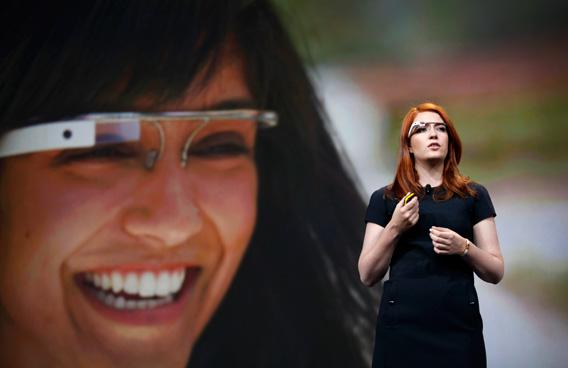 Isabelle Olsson, lead designer of Google's Project Glass, talks about the design of the Google Glass.