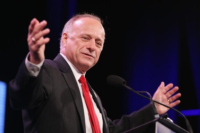 Iowa Rep. Steve King.