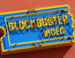 Blockbuster Video sign. Click image to expand.