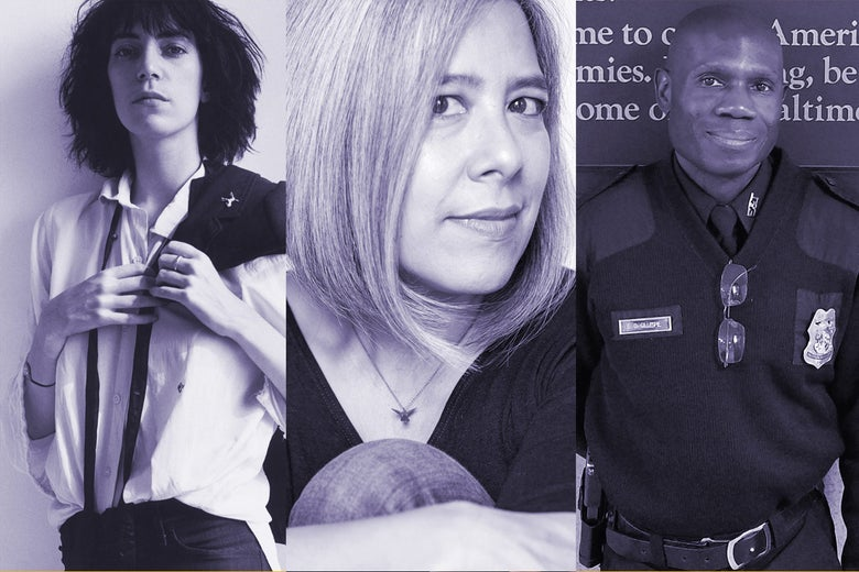 A Punk, a Writer, and a Cop Poet