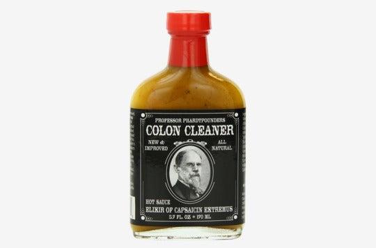 Professor Phardtpounders Colon Cleanser Hot Sauce.