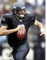 Seattle Seahawks quarterback Matt Hasselbeck. Click image to expand.