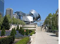 Gehry's band shell         Click image to expand.
