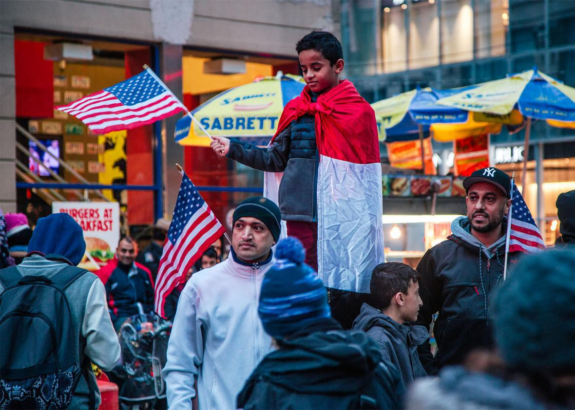 Travel Ban Protest NYC