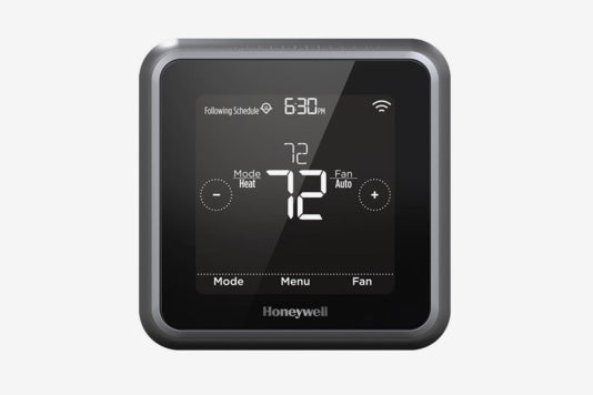 Honeywell RCHT8610WF2006 Lyric T5 Wi-Fi Smart 7 Day Programmable Touchscreen Thermostat.