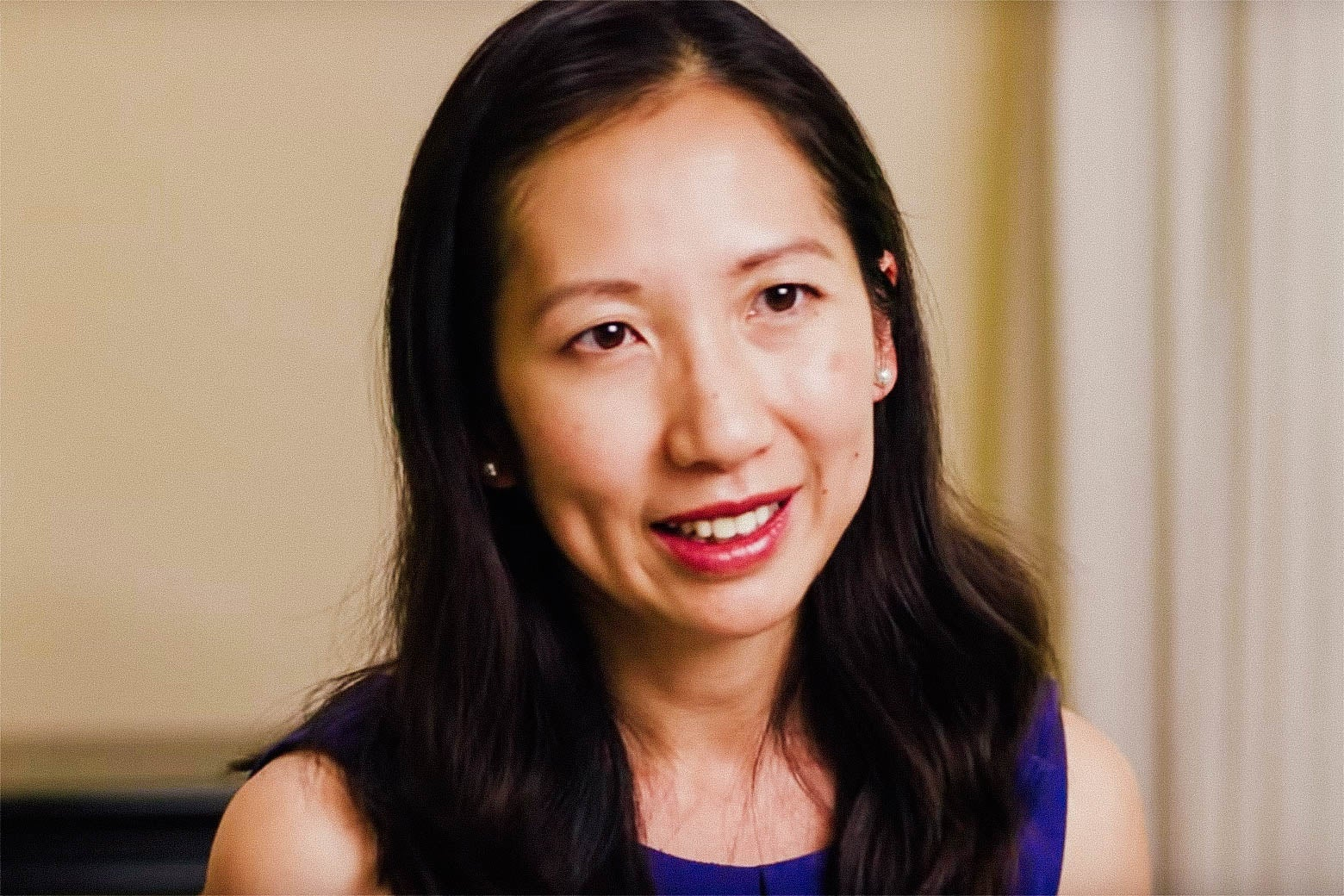 Leana Wen, Planned Parenthood's next president, in a still from their video announcing her hiring.