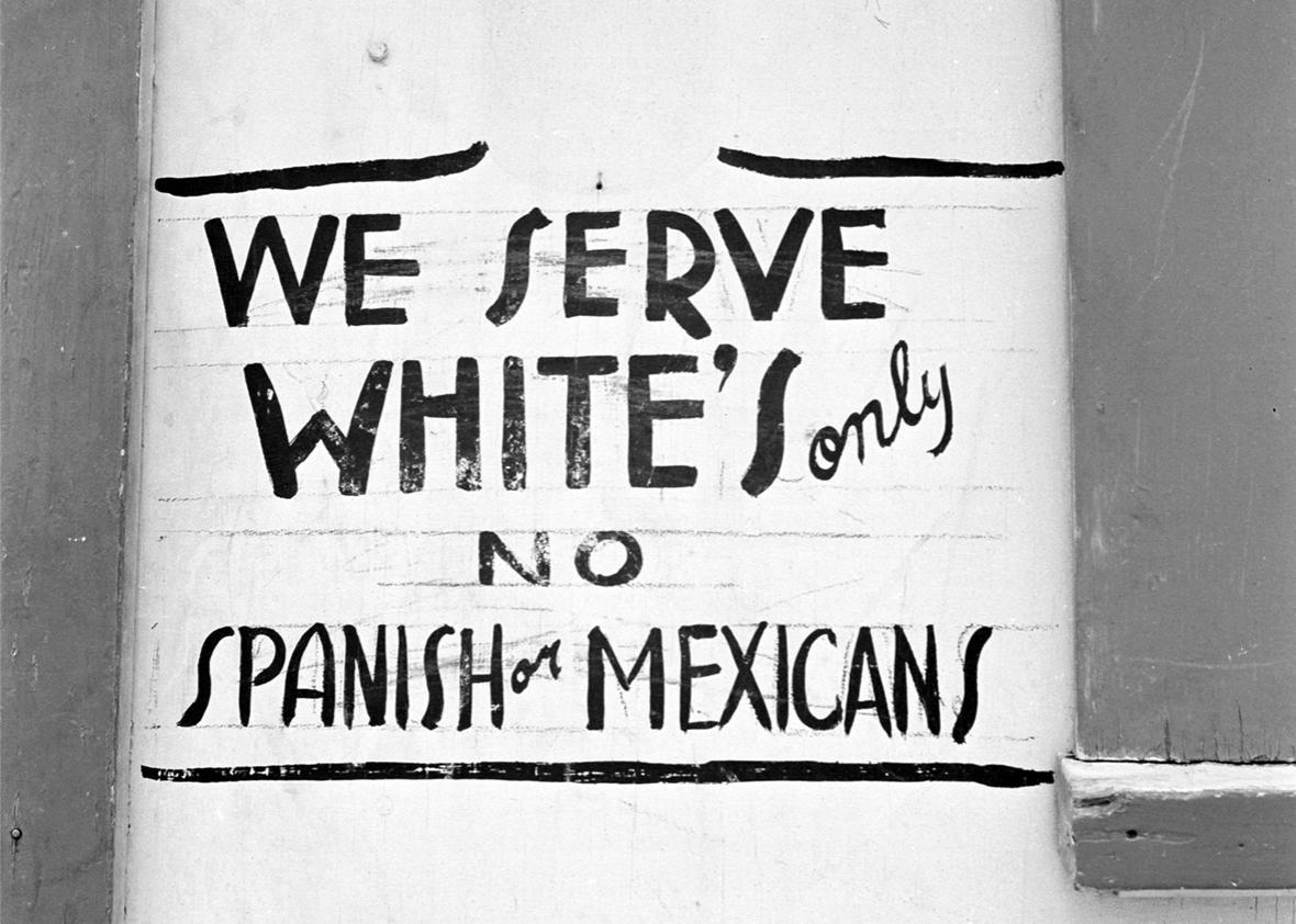 'Juan Crow' laws