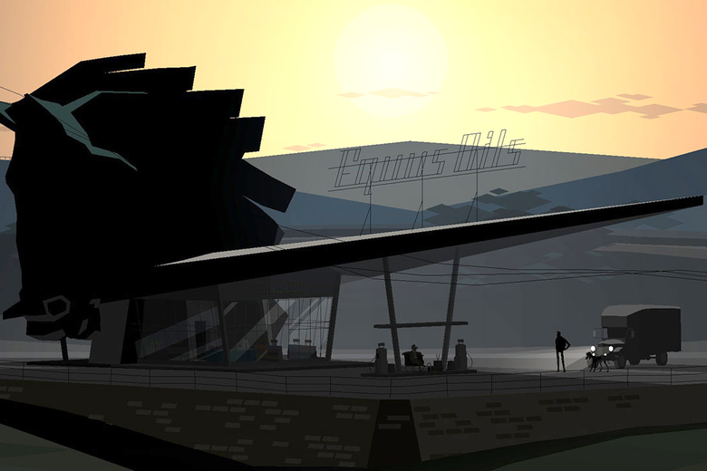 The Equus Oils gas station in Kentucky Route Zero.