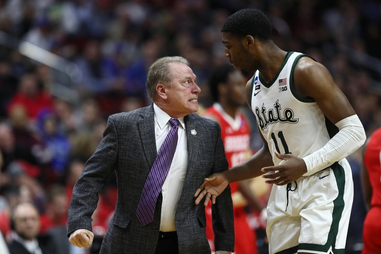 No One Will Scream at Tom Izzo for Screaming at His Players