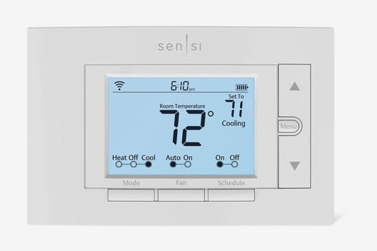 Emerson Sensi Wi-Fi Thermostat.
