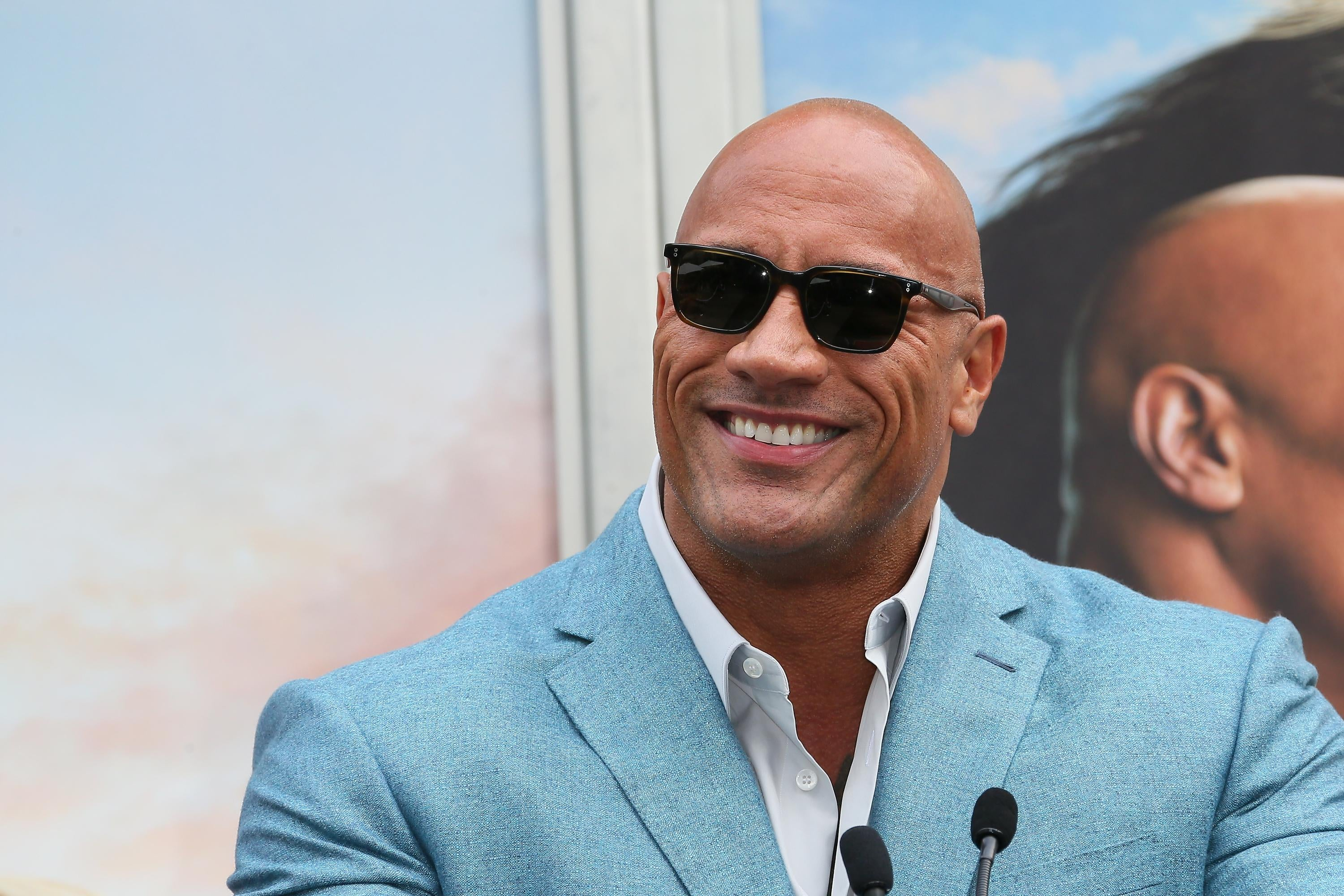 """Dwayne """"The Rock"""" Johnson backs Biden, Harris in his first presidential endorsement.Notable topicsActivating this button will toggle the display of additional contentSlate homepageSubmit searchEnter queryOpen menuClose menuNotable topicsSlate on InstagramSlate on TwitterSlate on FacebookSlate homepage*Slate on InstagramSlate on TwitterSlate on FacebookSlate PlusClose buttonThe Slate Group logo"""