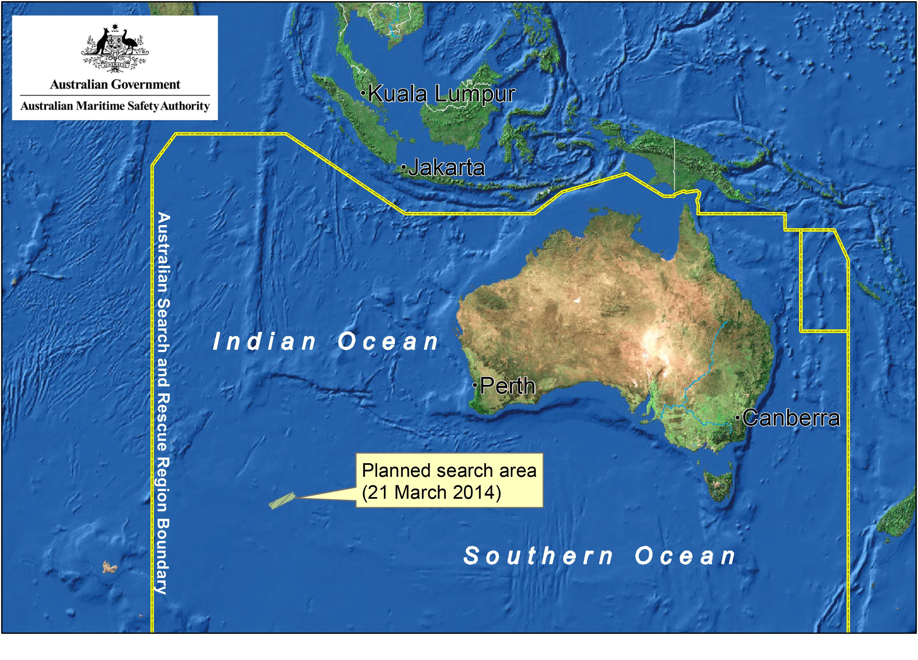 Day 14-MH370: Aussie search effort in Indian Ocean fails to turn up
