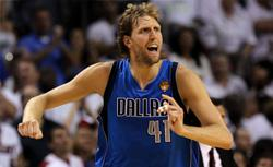 Dirk Nowitzki. Click image to expand.