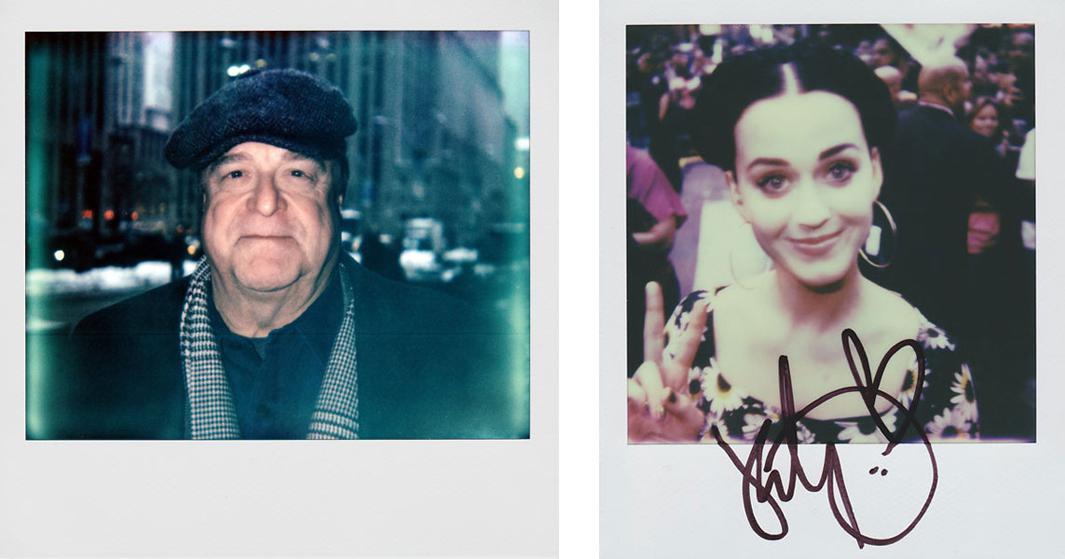 Left: John Goodman Right: Katy Perry