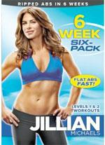 "Jillian Michaels DVD ""6 Weeks to Six Pack."""