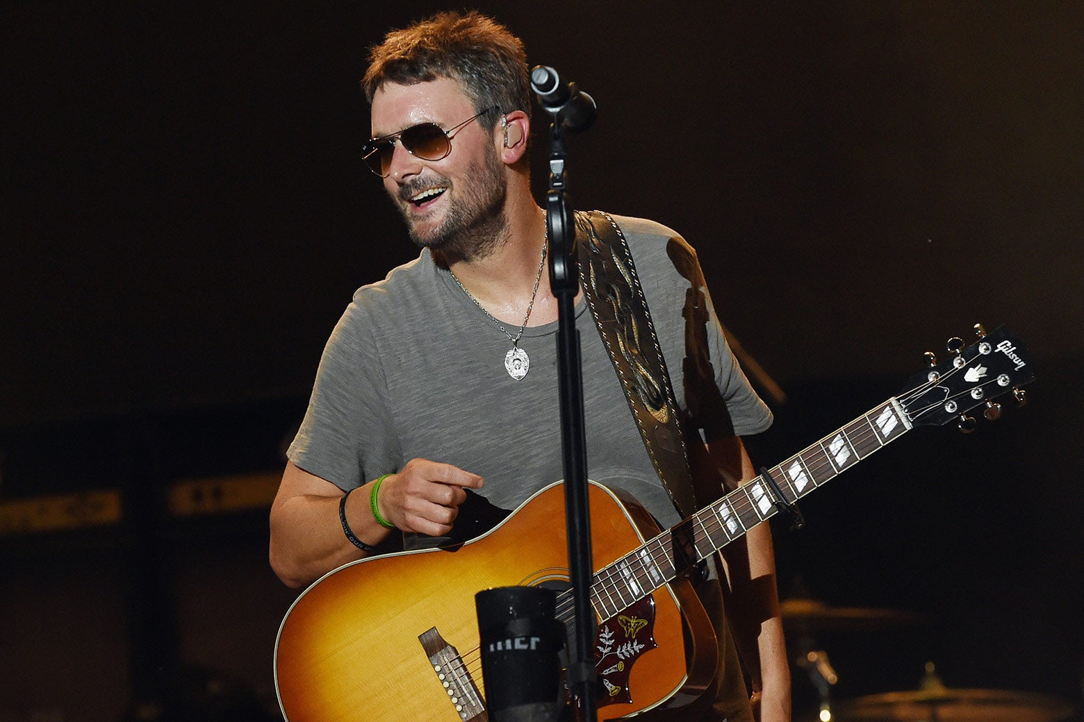 Eric Church performs during Pepsi's Rock The South Festival on June 2 in Cullman, Alabama.