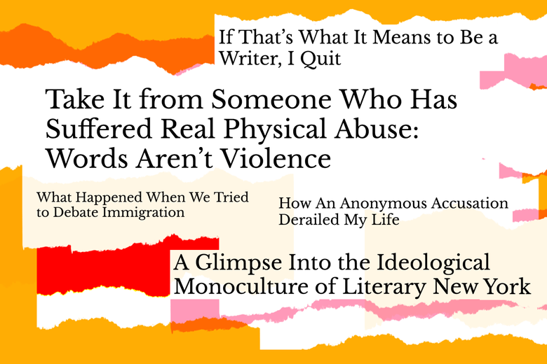 Various headlines from Quillette.