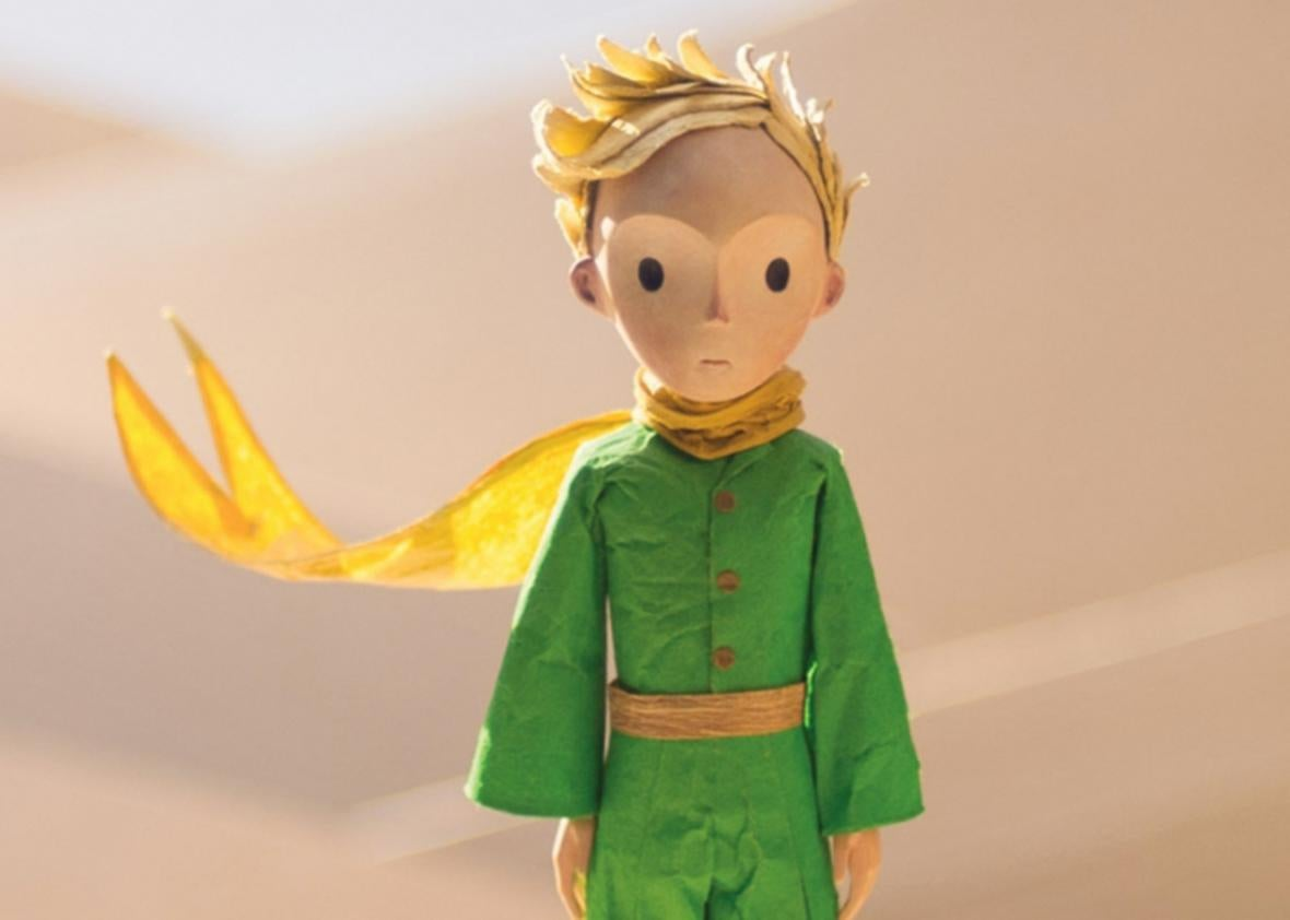 Riley Osborne in the Little Prince.