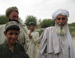 Hajji Hamidullah Helmand (far right). Click image to expand.