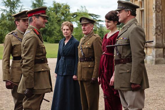 The Crawleys meet the war head on.