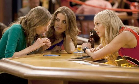 Lauren Lapkus, Natalie Morales, and Laura Prepon in Are You There, Chelsea?