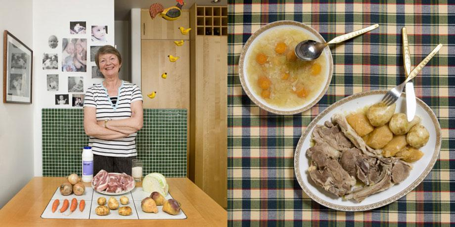 Valagerdur Olafsdòttir, 63 years old – Reykjavìk, Iceland– Kjotsùpa (lamb and vegetables soup